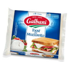 Toast alla Mozzarella Galbani 150g - Galbani