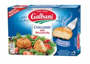 Croccante alla Mozzarella Galbani 6*25g - Galbani