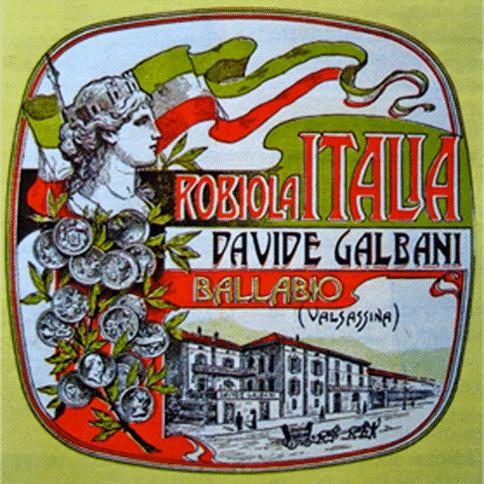 Eerste logo van Galbani