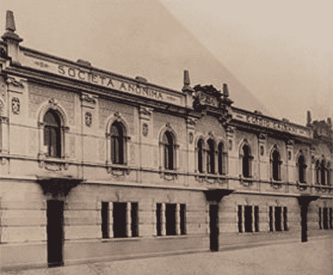 De oude Galbani fabriek