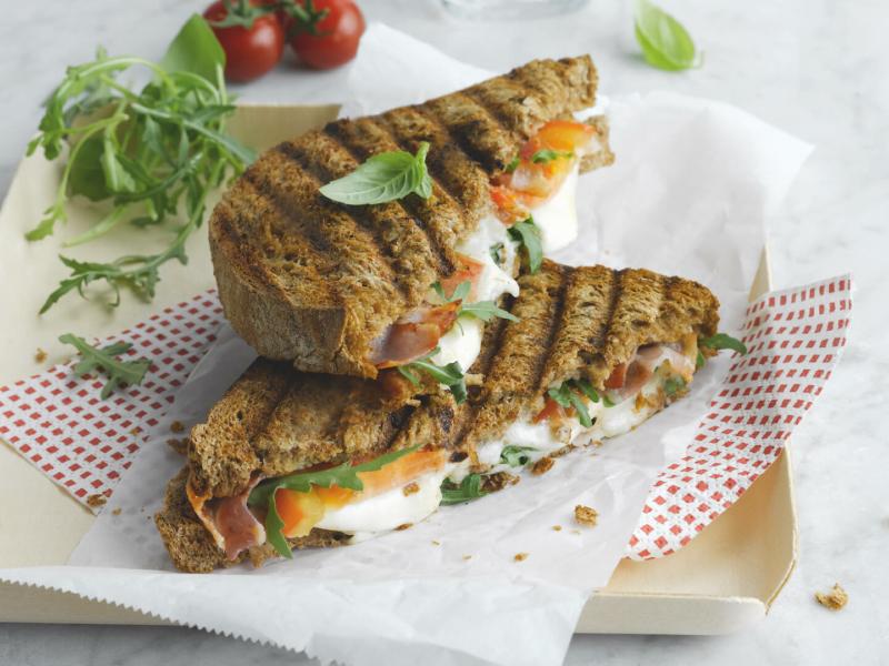 Toast Bacon & Mozzarella - Galbani