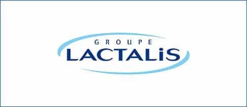 Logo van de groep Lactalis
