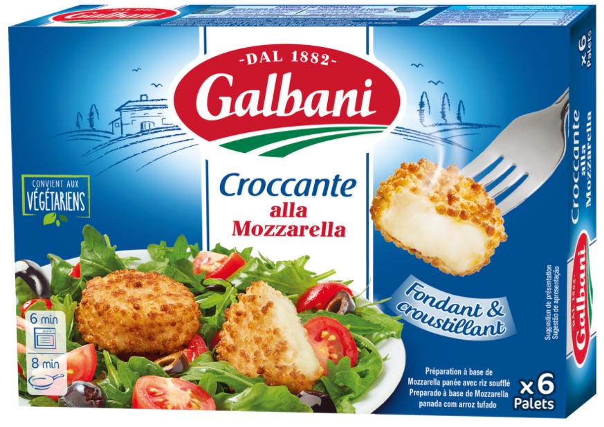 Croccante alla Mozzarella Galbani 6*25g | Galbani