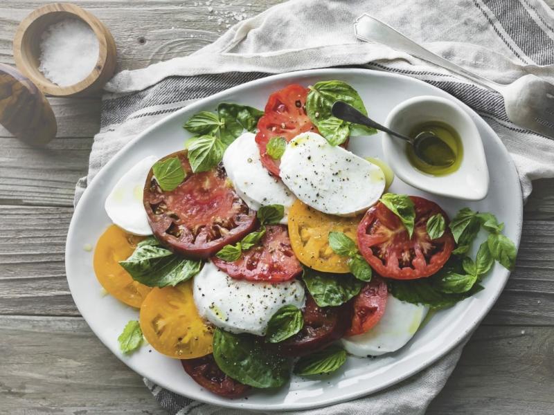 Véritable salade Caprese - Galbani