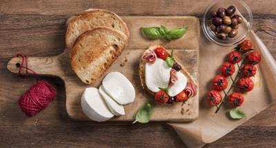 Bruschetta met tomaten en Mozzarella - Galbani