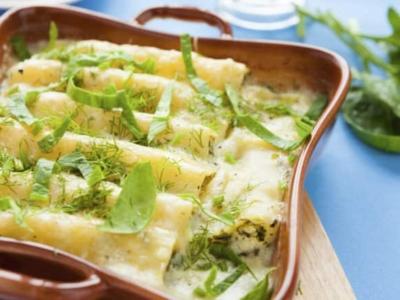 Cannellonis aux quatre fromages - Galbani