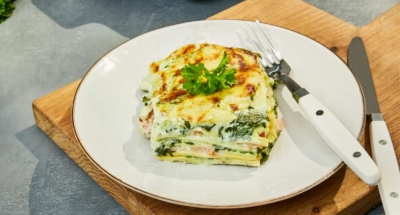 Lasagne met zalm - Galbani