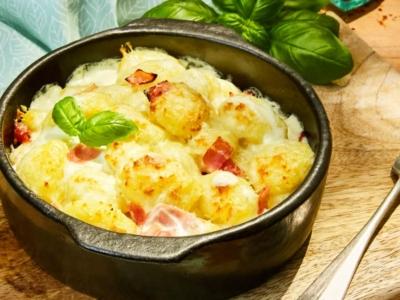 Gastronomische Gnocchi met bechamelsaus - Galbani