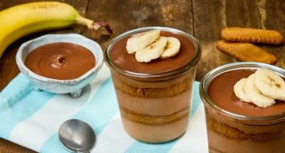 Tiramisu met speculaas, Nutella en banaan - Galbani
