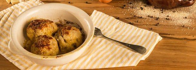 Boulettes au pain et aux fromages - Galbani