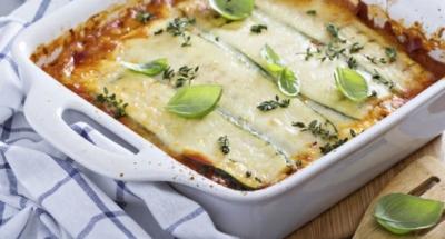 Vegetarische lasagne met artisjokken, asperges en courgettes - Galbani