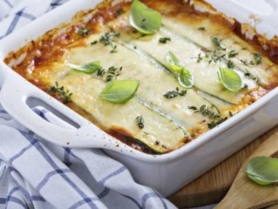 Lasagnes Végétariennes aux Artichauts, Asperges et Courgettes - Galbani