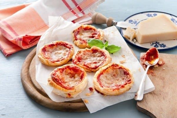 Pizzaatjes gegratineerd met Grana Padano - Galbani