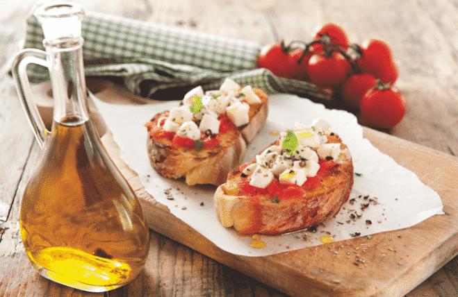 Bruschetta à la Mozzarella - Galbani