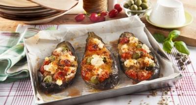 Rolletjes van aubergines uit de oven - Galbani