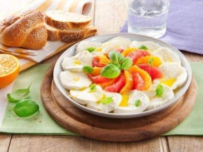 Salade Caprese met zuidvruchten - Galbani