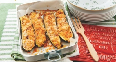 Courgettes uit de oven - Galbani